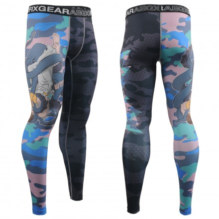"""Grappling? WTF!"" - FIXGEAR Second Skin Technical Compression Tights ."