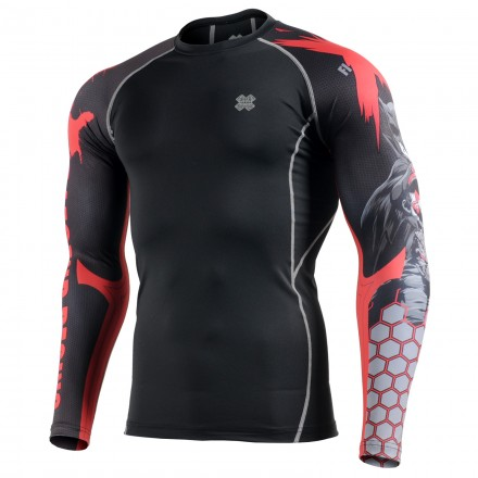 """LEGEND"" Sleeves  - FIXGEAR Second Skin Technical Compression Shirt ."