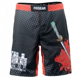"""KILL EM ALL"" - Bermuda/Fight Short/Boxing/Board Short FIXGEAR."