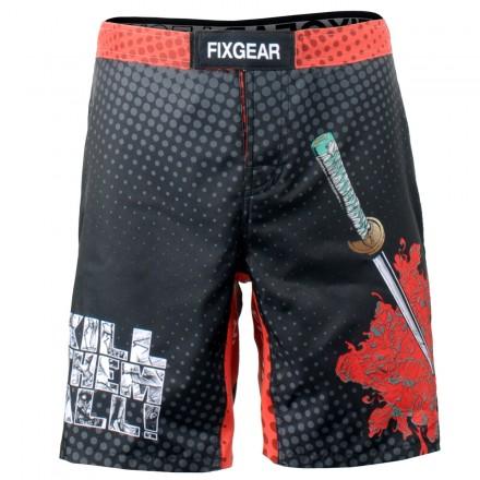 """""""KILL EM ALL"""" - Bermuda/Fight Short/Boxing/Board Short FIXGEAR."""