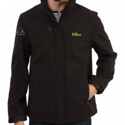 MENS SOFTSHELL JACKET PREMIUM EMBROIDERED - DEFENCE LAB