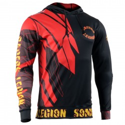 Technical Running/Training/Casual Hoodie RACERS LEGION OCR by FIXGEAR