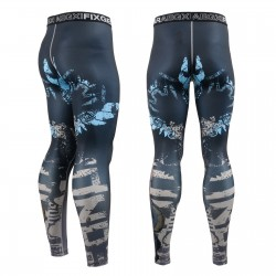 """THE OFFERING"" - FIXGEAR Second Skin Technical Compression Tights ."