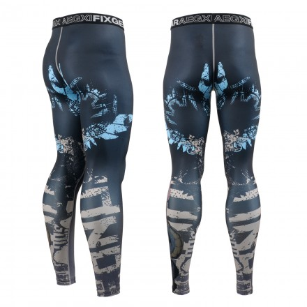 """""""THE OFFERING"""" - FIXGEAR Second Skin Technical Compression Tights ."""