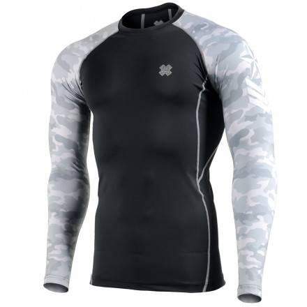 """""""CAMO G"""" Sleeves - FIXGEAR Second Skin Technical Compression Shirt ."""