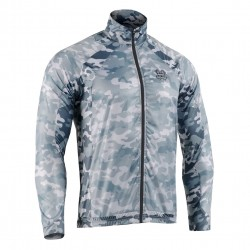 """FLEXFIX GREY CAMO"" - FIXGEAR Flexible Windbreaker Running Jacket"