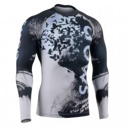 """Ravin Darkness"" - Camiseta Técnica de Compresión Segunda Piel FIXGEAR."