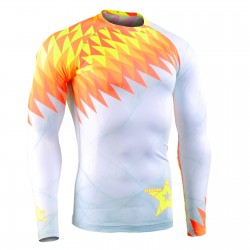 """Spain Passion"" - FIXGEAR Second Skin Technical Compression Shirt ."