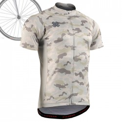 """CAMO Y"" - FIXGEAR Short Sleeve Cycling Jersey."