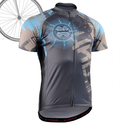 """THE OFFERING"" - FIXGEAR Short Sleeve Cycling Jersey."