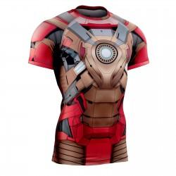 """FIXDROID"" - FIXGEAR Short Sleeve Technical Compression Shirt ."