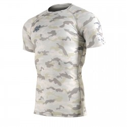 """CAMO Y"" - FIXGEAR Short Sleeve Technical Compression Shirt ."
