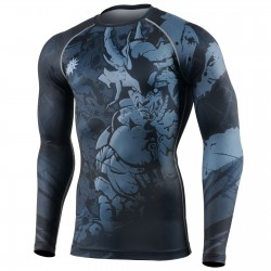 """MACHO CABRIO"" - FIXGEAR Second Skin Technical Compression Shirt ."