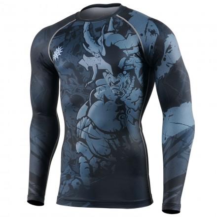 """""""MACHO CABRIO"""" - FIXGEAR Second Skin Technical Compression Shirt ."""