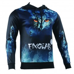 """NIGHT EYES"" - FIXGEAR Technical Running/Training/Casual Hoodie"