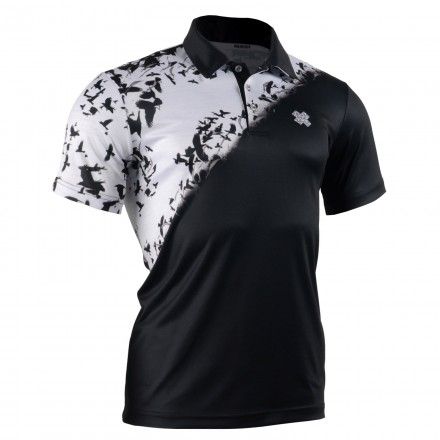 """INTO THE NIGHT"" - FIXGEAR Short Sleeve 3 Button Casual & Technical Polo"