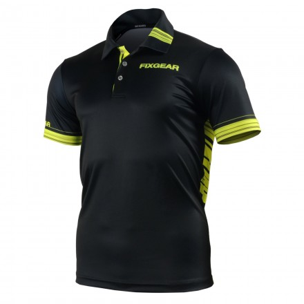 """""""THE HORNET"""" - FIXGEAR Short Sleeve 3 Button Casual & Technical Polo"""