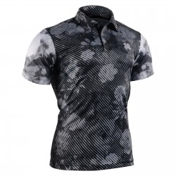 """DARK GARDEN"" - FIXGEAR Short Sleeve 3 Button Casual & Technical Polo"