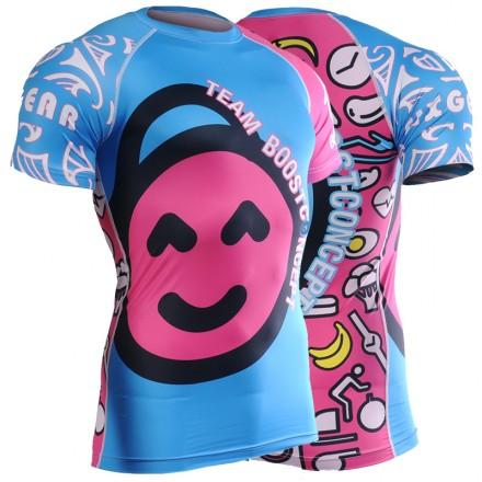 BOOSTCONCEPT UNISEX Technical Short Sleeve Shirt