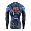 """MANDRILL"" - FIXGEAR Second Skin Technical Compression Shirt ."