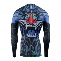 """MANDRILL"" - FIXGEAR Second Skin Technical Compression Shirt ."