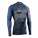 """""""DEATH CROSSED"""" - FIXGEAR Second Skin Technical Compression Shirt ."""
