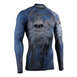 """DEATH CROSSED"" - FIXGEAR Second Skin Technical Compression Shirt ."