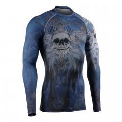 """MUERTE CRUZADA"" - Camiseta Técnica de Compresión Segunda Piel FIXGEAR."