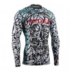 """GOTAS DE MUERTE"" - Camiseta Técnica de Compresión Segunda Piel FIXGEAR."