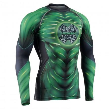 """THE VINE"" - FIXGEAR Second Skin Technical Compression Shirt ."
