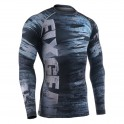 """DECOMPOSITION"" - FIXGEAR Second Skin Technical Compression Shirt ."