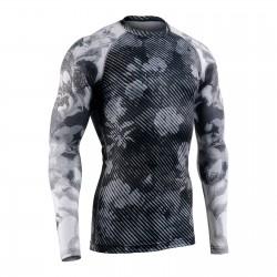 """""""DARK GARDEN"""" - Camiseta Técnica de Compresión Segunda Piel FIXGEAR."""