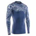 """TATTOO BLUE"" - FIXGEAR Second Skin Technical Compression Shirt."