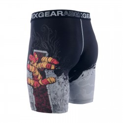 """TEARING OUT"" - FIXGEAR Second Skin Technical Compression Shorts ."