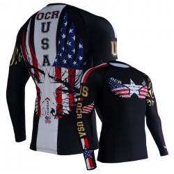 OCR USA Camiseta Técnica Manga Larga UNISEX