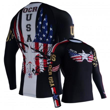OCR USA UNISEX Technical Long Sleeve Shirt
