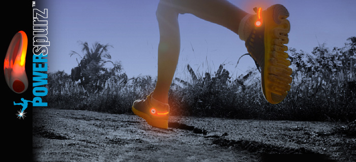 POWERspurz - Heel Safety Lights / Luces de Seguridad.