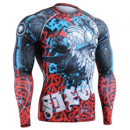 """The Chungo"" FULL - FIXGEAR Second Skin Technical Compression Shirt - Special MMA Design."