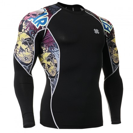 """""""The Comic"""" - FIXGEAR Second Skin Technical Compression Shirt."""