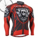 """""""Red Armor"""" - FIXGEAR Long Sleeve Cycling Jersey."""