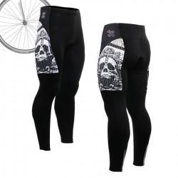"""Pinstripe Skull"" - FIXGEAR Long Cycling Pants."
