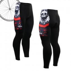 """Skull Star"" - FIXGEAR Long Cycling Pants."