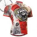 """Thorned Skull"" - FIXGEAR Short Sleeve Cycling Jersey."