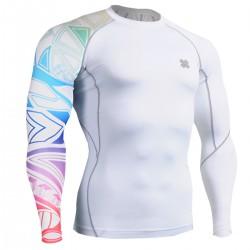 """""""Tribal Colorines"""" - Camiseta Técnica de Compresión Segunda Piel FIXGEAR."""