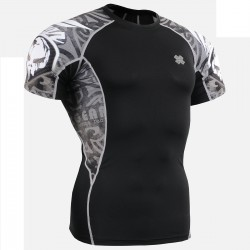 """Alien"" - FIXGEAR Short Sleeve Second Skin Technical Compression Shirt ."