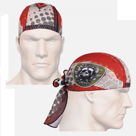 """Thorned Skull"" - FIXGEAR Cycling/Running/Training Bandana."