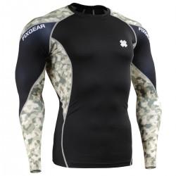 """""""The Hunter"""" - Camiseta Técnica de Compresión Segunda Piel FIXGEAR."""