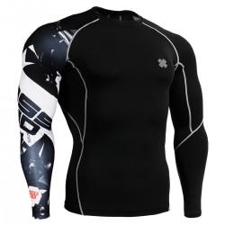 """Uni Cross Road"" - FIXGEAR Second Skin Technical Compression Shirt."