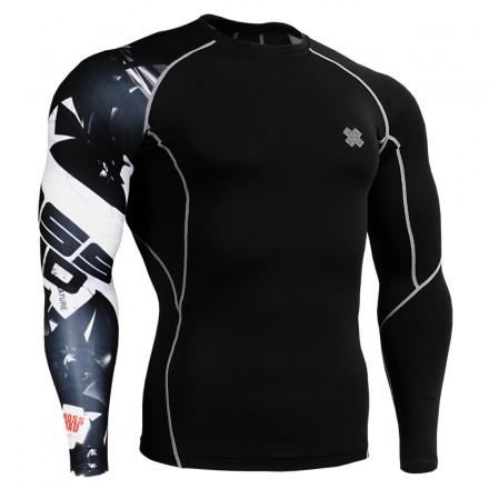 """Uni Cross Road"" - Camiseta Técnica de Compresión Segunda Piel FIXGEAR."