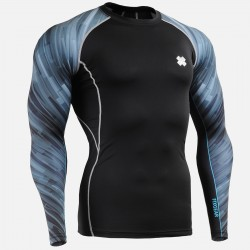 """Dark Traces"" Sleeves  - FIXGEAR Second Skin Technical Compression Shirt"